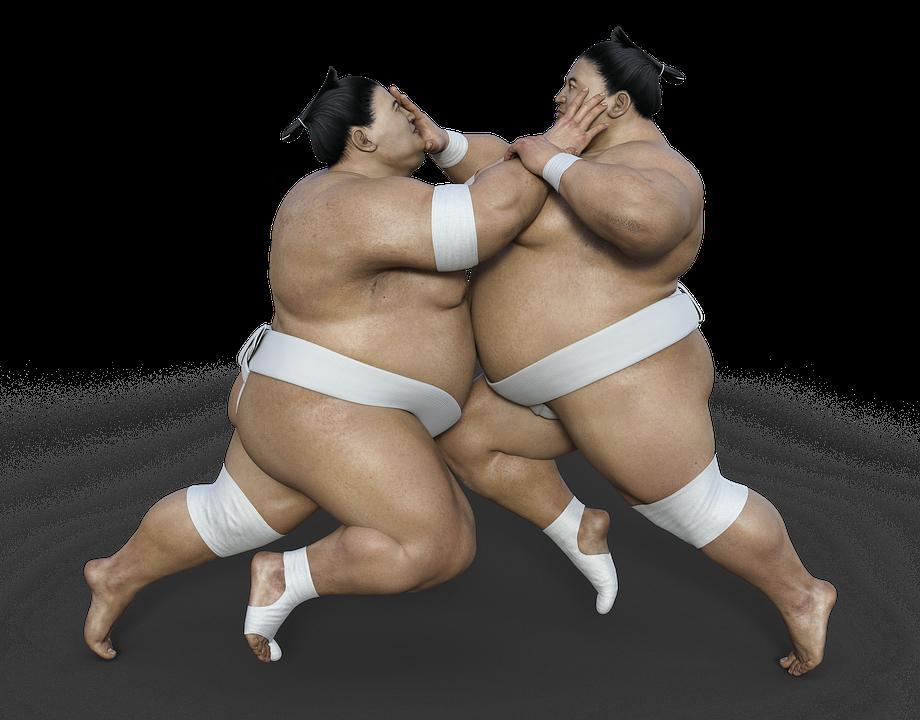 相撲の土俵は昔は四角形だった、なぜ丸くなったのかを解説。
