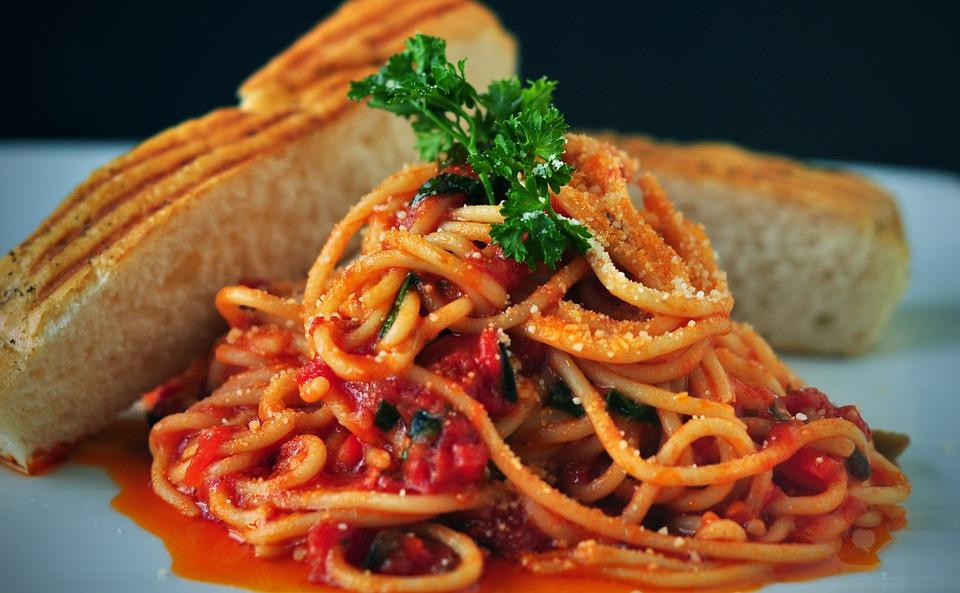 パスタスパゲティ違い