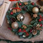 クリスマスリースの意味や由来とは?いつからいつまで飾るもの?
