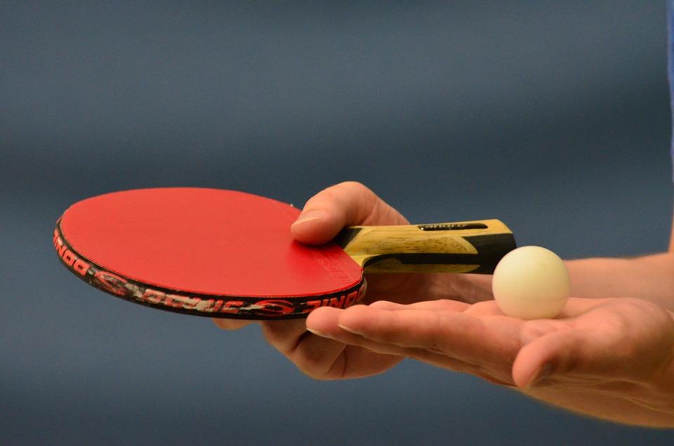 タモリ発言卓球台ボール色